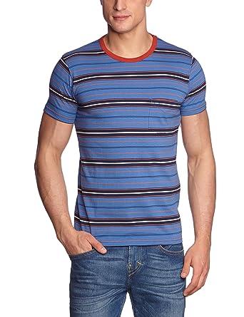 JACK & JONES Frankie - Camiseta Slim fit a Rayas de Frankie Stein ...