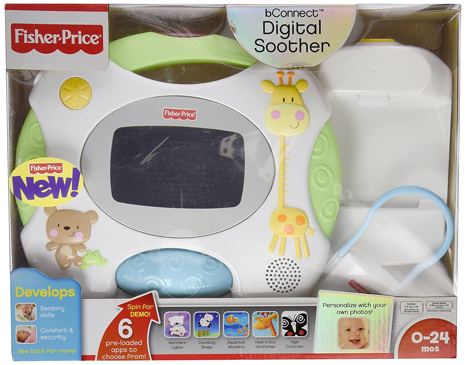Fisher-Price Connect Digital Soother Fisher Price W9894 ds-tru-EF03F37B iBaby; be-connect; b-connect; beconnect; Facetime; mobile; sleep-aide; crib toy; baby gear