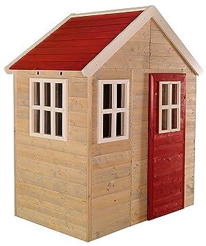 Wendi Toys Holz Spielhaus Für Kinder Aus Fichtenholz Garten