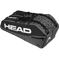 HEAD Core 6R Combi - Bolsa para Raquetas de Tenis, 6 Raquetas, Color Negro y Gris