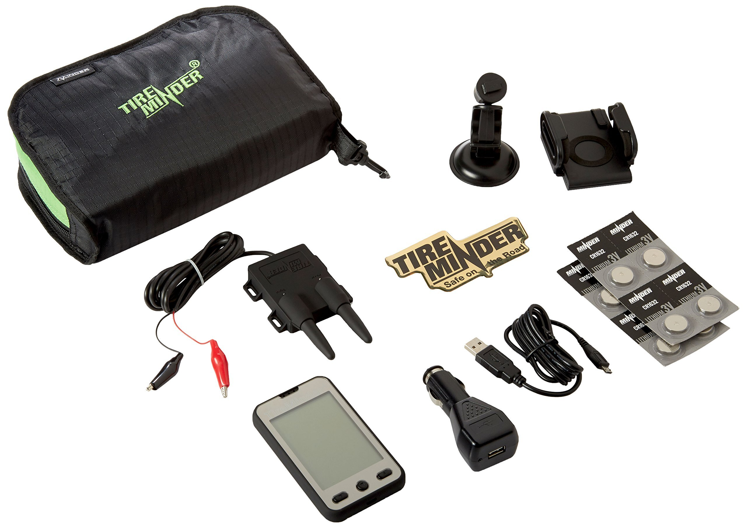 TireMinder A1A Tire Pressure Monitoring System (TPMS) with 4 Transmitters for RVs, MotorHomes, 5th Wheels, Motor Coaches and Trailers