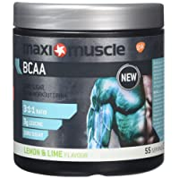 MaxiMuscle BCAA Powder, Lemon and Lime, 330 g