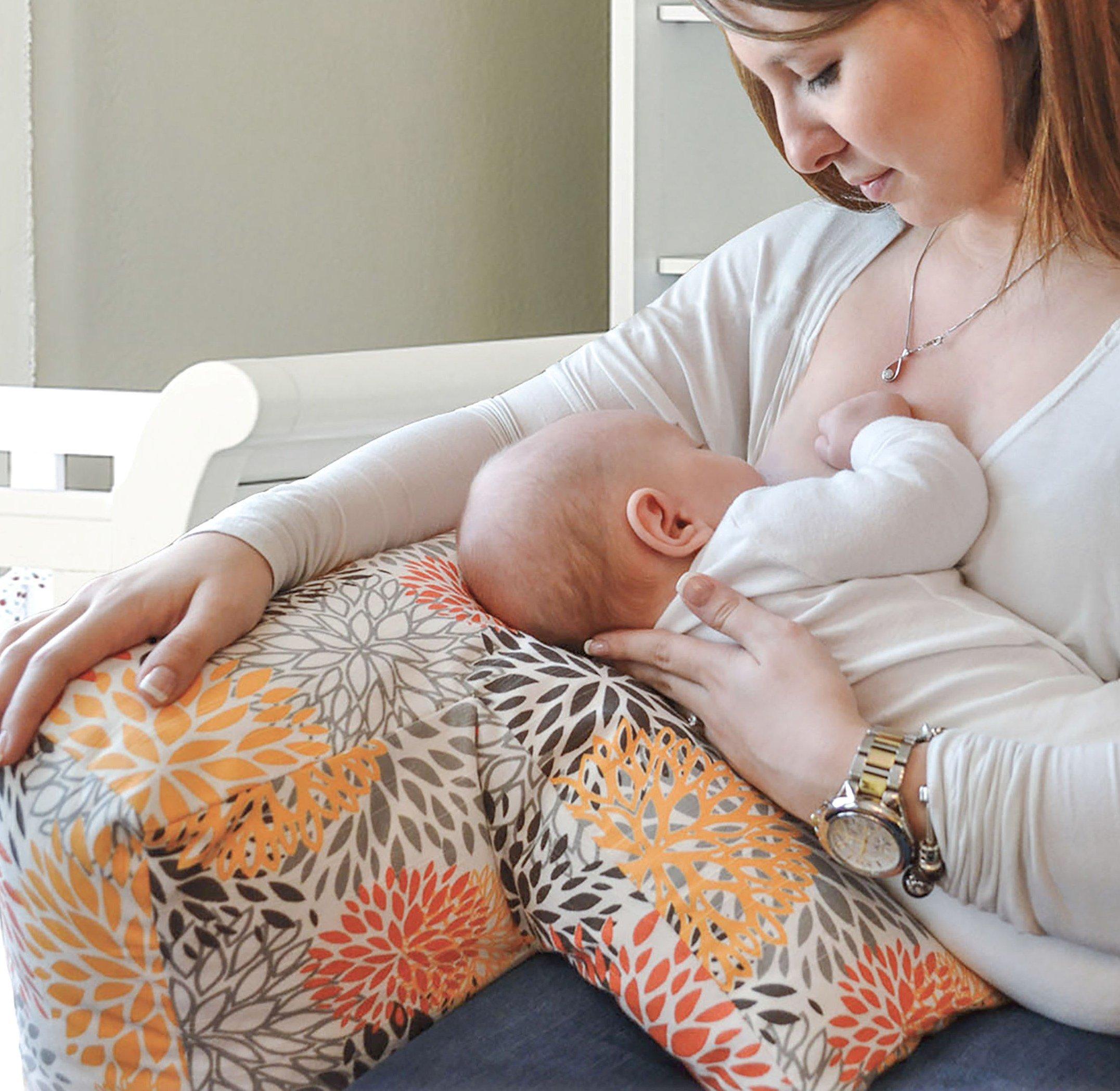 Shuga Bebe Couture Angled Nursing Pillow for Breastfeeding- Mumsies