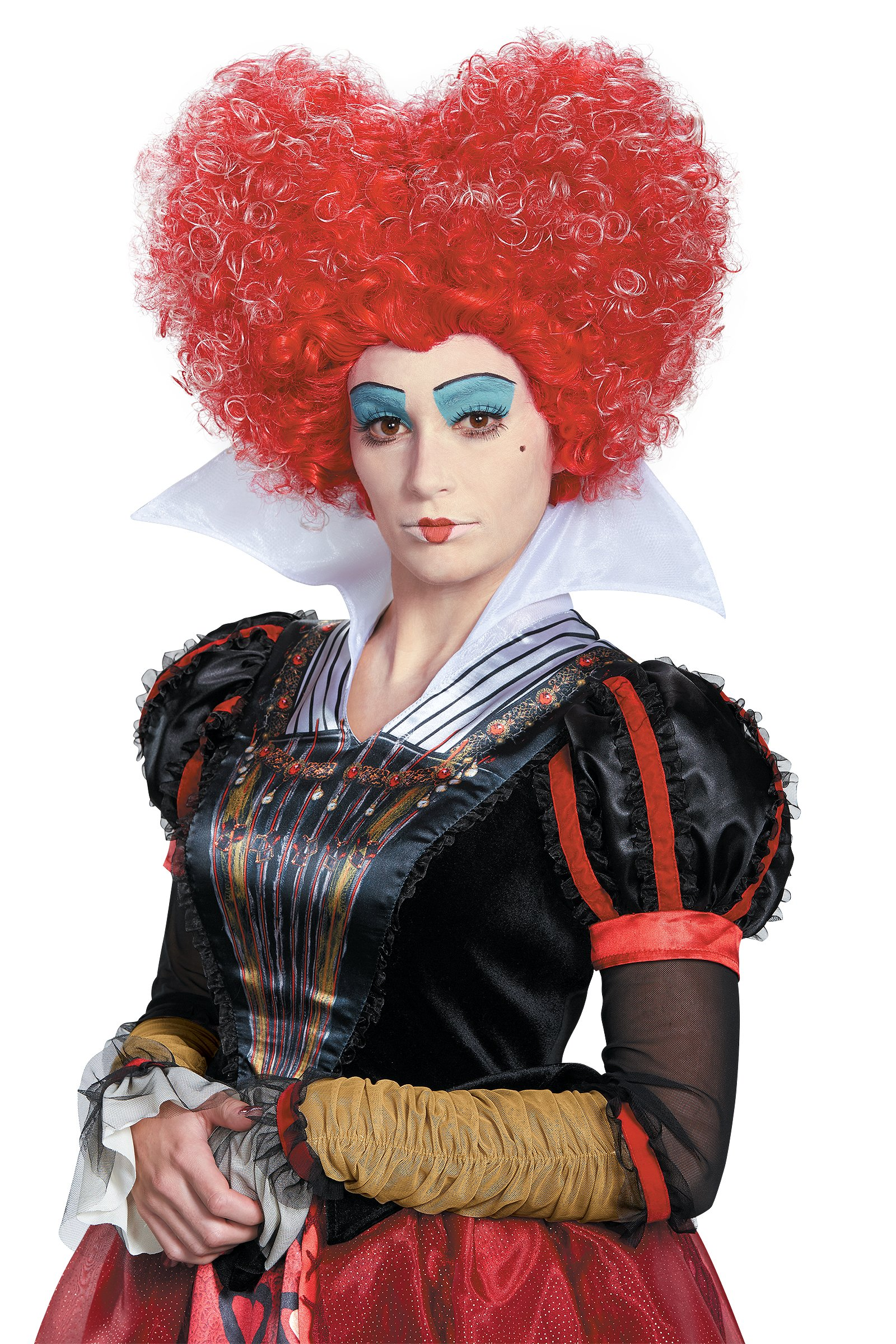 DIS10219/181 Red Queen of Hearts Wig
