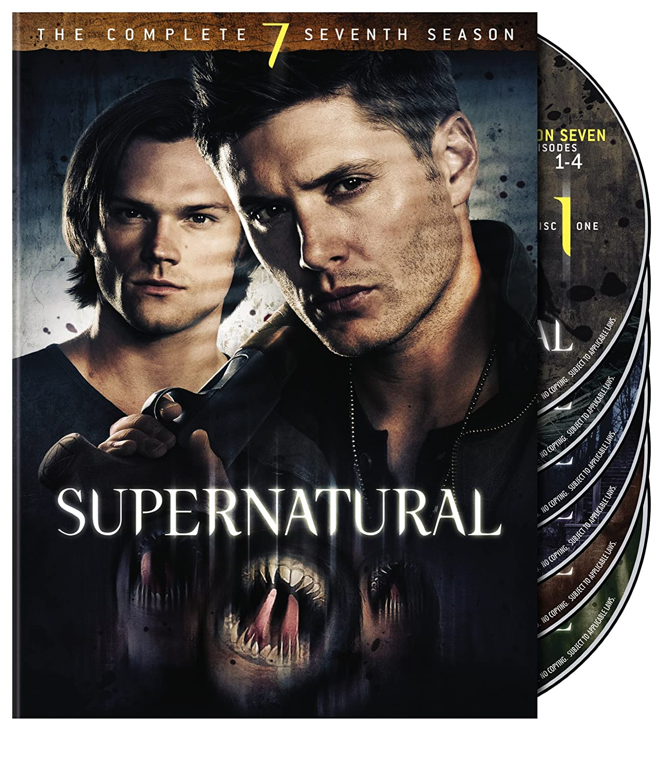 Supernatural: S7 (DVD)