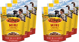 product image for Zuke's Mini Naturals Dog Treats Peanut Butter and Oats 6 oz 6 Pack