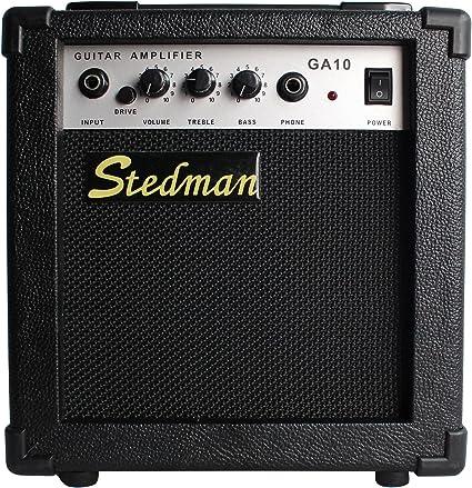 YMC - Amplificador de guitarra eléctrica de 10 W con interruptor ...