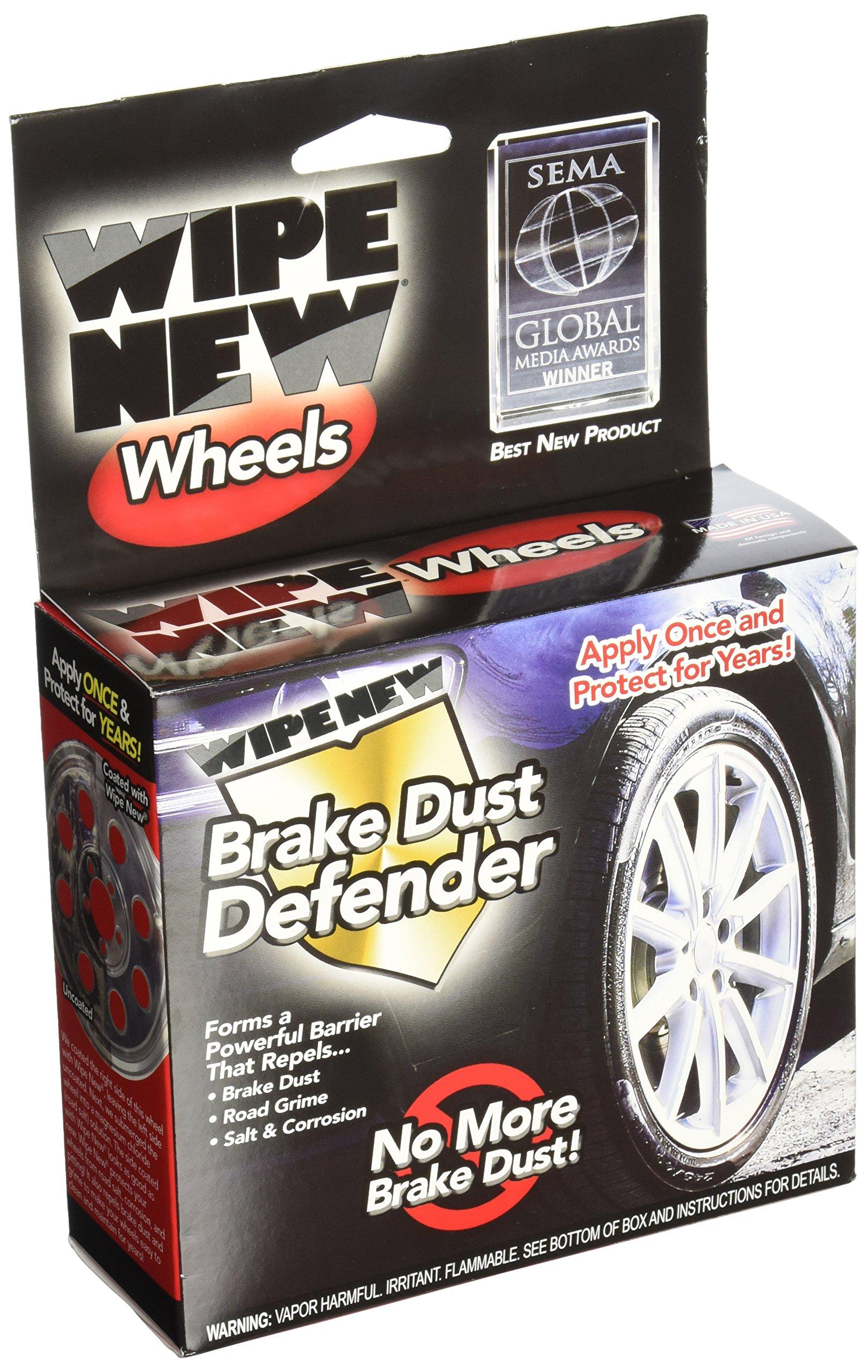 Wipe New (WW6PCRTLKIT) Wheels Brake Dust Defender Series