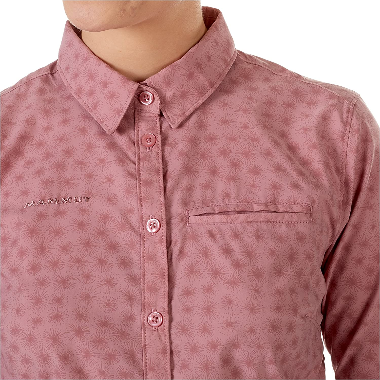 1030-02560-3125-113 Rose Small Mammut Womens Trovat Advanced Longsleeve Shirt