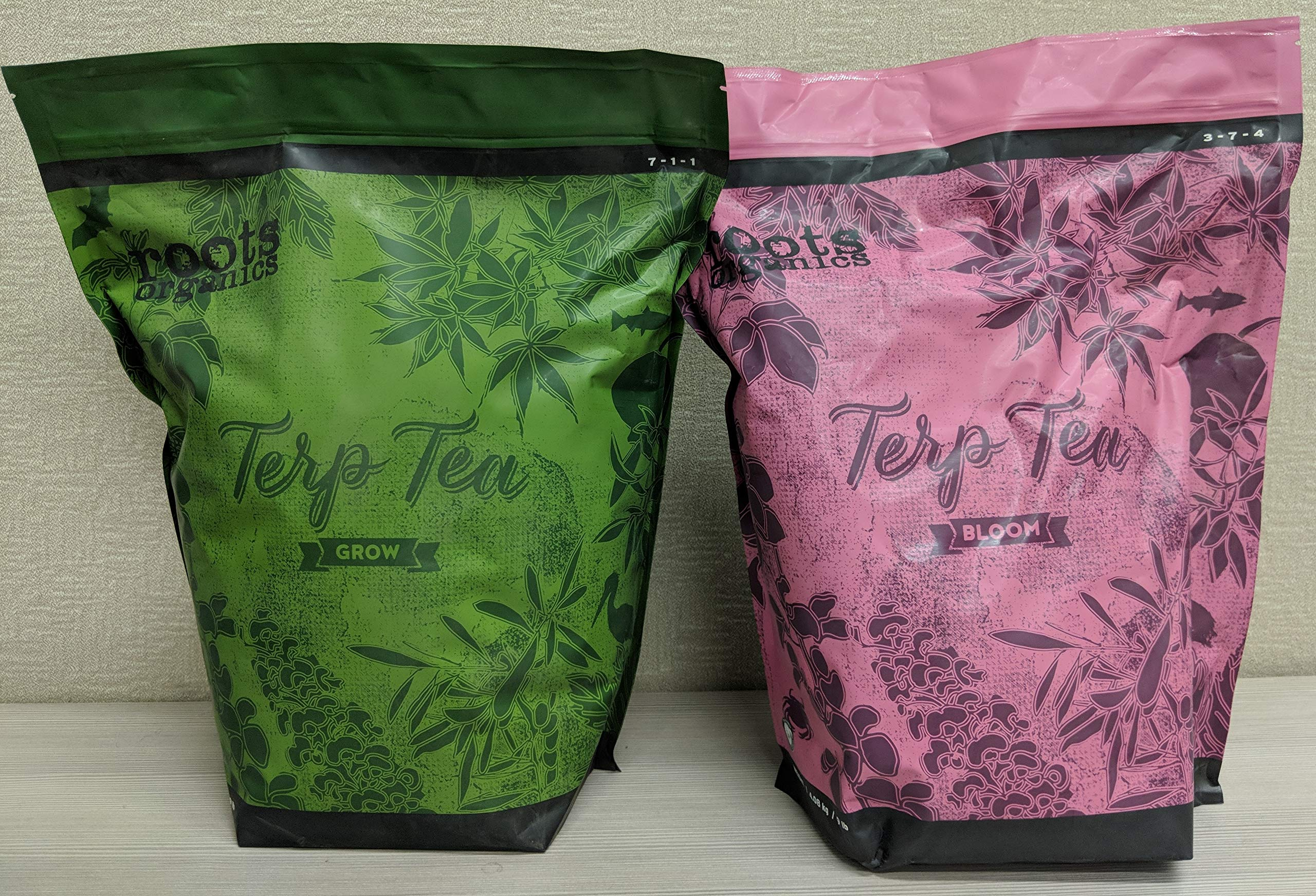 Roots Organics Terp Tea Combo Set (Grow + Bloom), 9 lb Bags