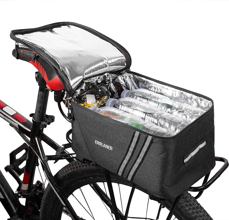Cycling Bicycle Bike Rear Seat Rack Storage Trunk Bag Pouch  Pannier Waterproof