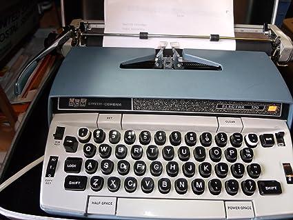 BLACK SMITH-CORONA ELECTRA 210 220 SPOOL TYPEWRITER RIBBON