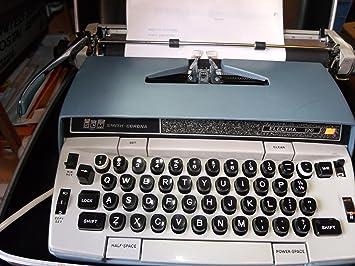 Smith Corona - Electra 120 eléctrico máquina de escribir: Amazon.es: Electrónica