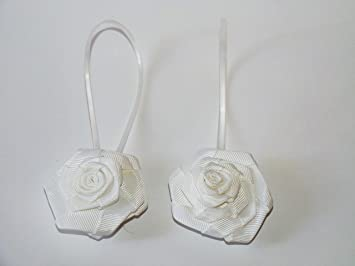 Set di due calamite per tenda con fiore bianco amazon fai da te