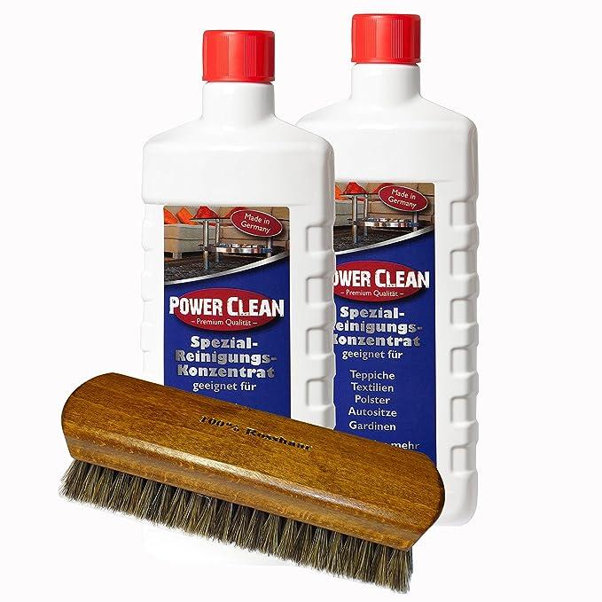 (24,95€/L) Teppichreiniger, Polsterreiniger Power Clean Spezial- Reinigungs-Konzentrat Spar Set.: Amazon.de: Küche & Haushalt