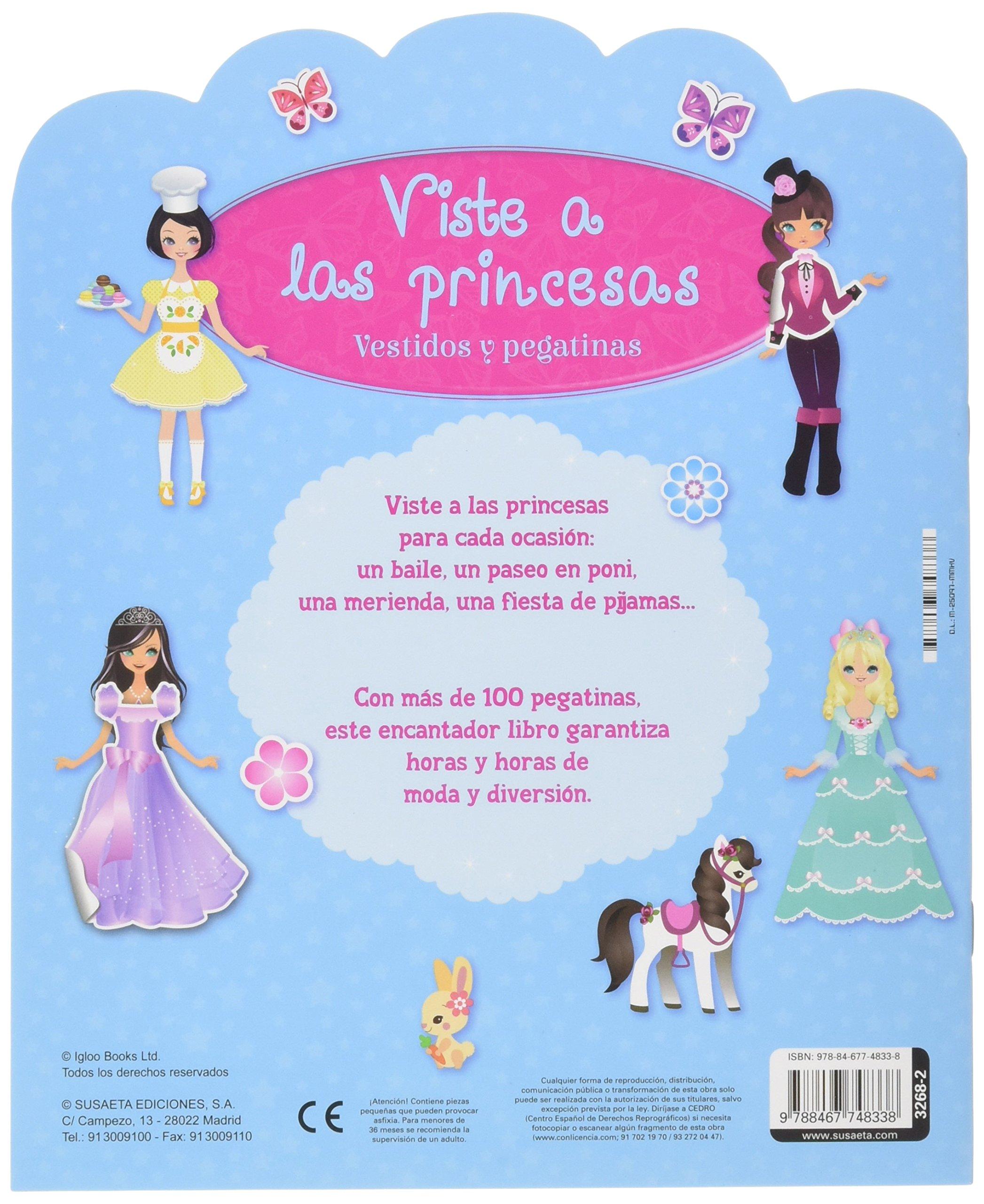 VESTIDOS Y PEGATINAS (2 TITULOS): Equipo Susaeta: 9788467748338: Amazon.com: Books