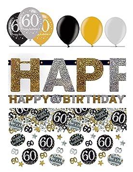 Fijo celebran guirnalda de decoración para 60 cumpleaños | 8 ...