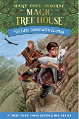 Late Lunch with Llamas (Magic Tree House (R) Book 34) Kindle Edition
