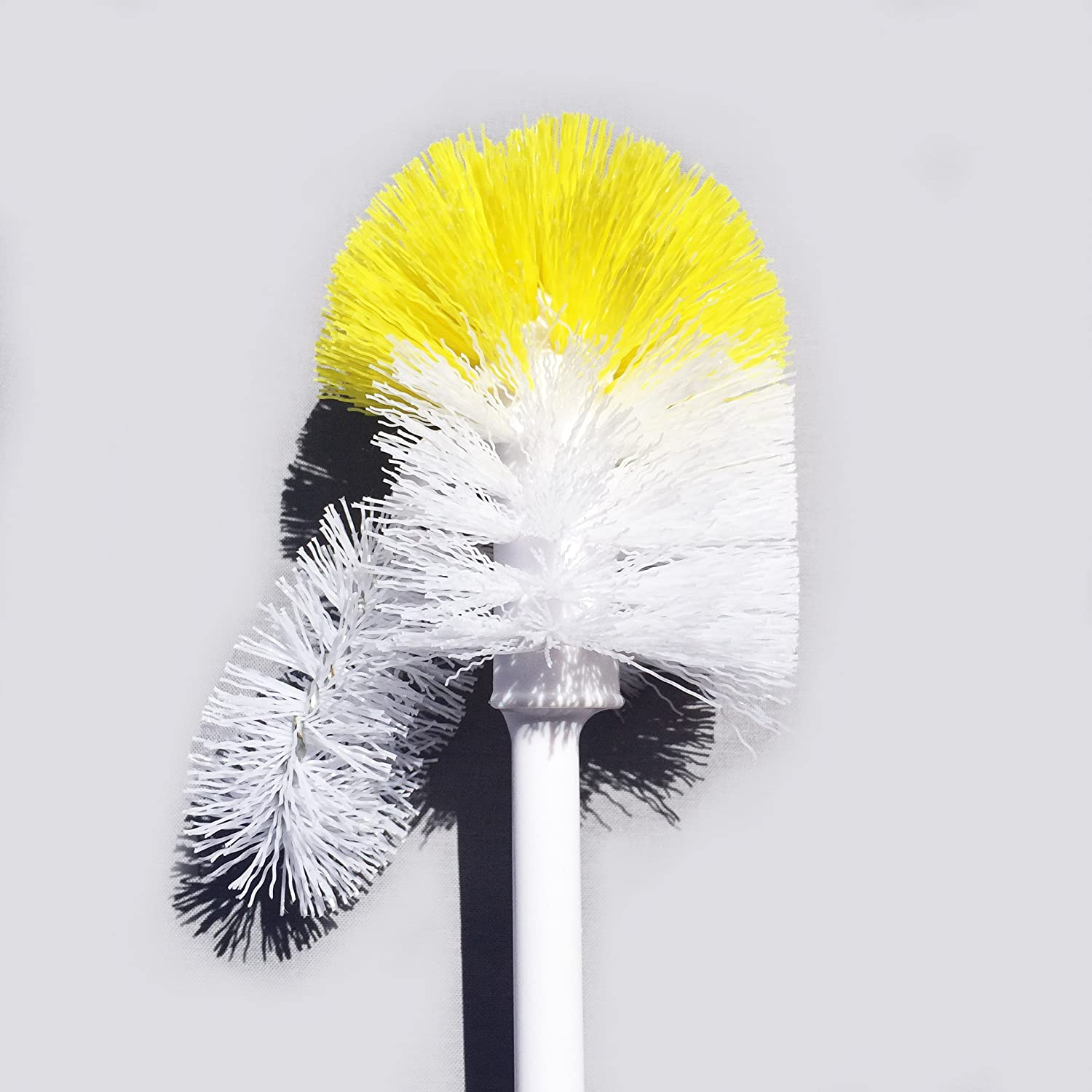 Amazon.com: Commercial Grade Toilet Brush - Adjustable Rim Scrub ...