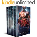ZHEKAN MATES: The Complete Series (Books 1-4)