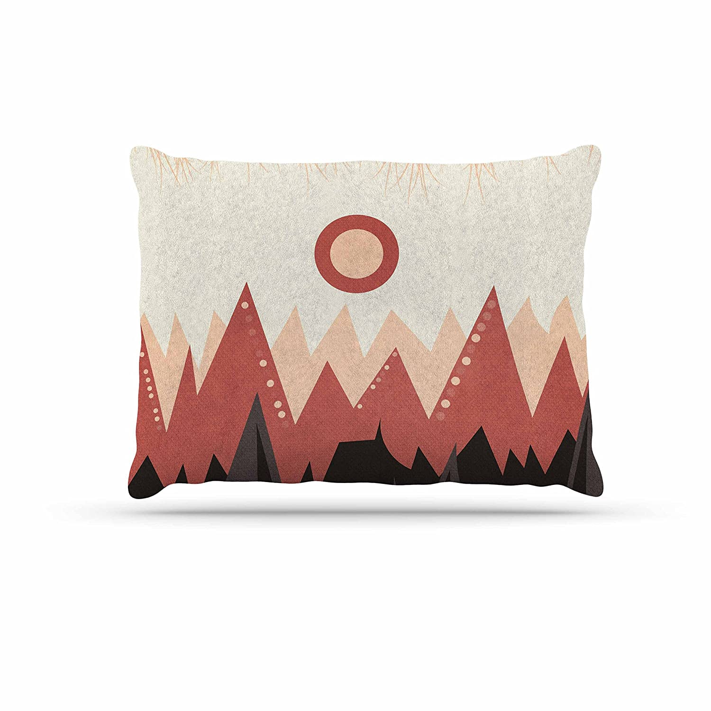 KESS InHouse Viviana Gonzalez Landscape a. Brown Coral Dog Bed, 50  x 40