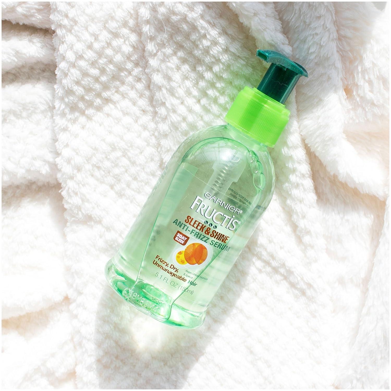 Garnier Fructis Sleek Shine Anti Frizz Serum Frizzy Dry Baby Laundry Detergent 450ml Unmanageable Hair 51 Fl Oz Business Industry Science