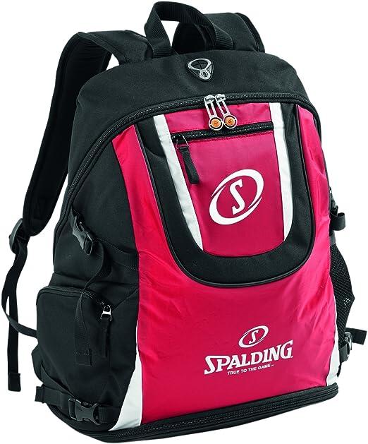 Spalding - Mochila Rojo Rojo/Negro/Blanco Talla:Talla única ...