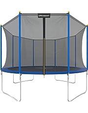 Ultrasport Garden Trampoline, Kids Trampoline Complete Set Including Jumping Sheet, Safety Net, Padded Net Posts and Edge Cove