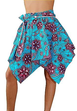 Falda diseñador, Pieza única, Africana Wax: Amazon.es: Ropa y ...