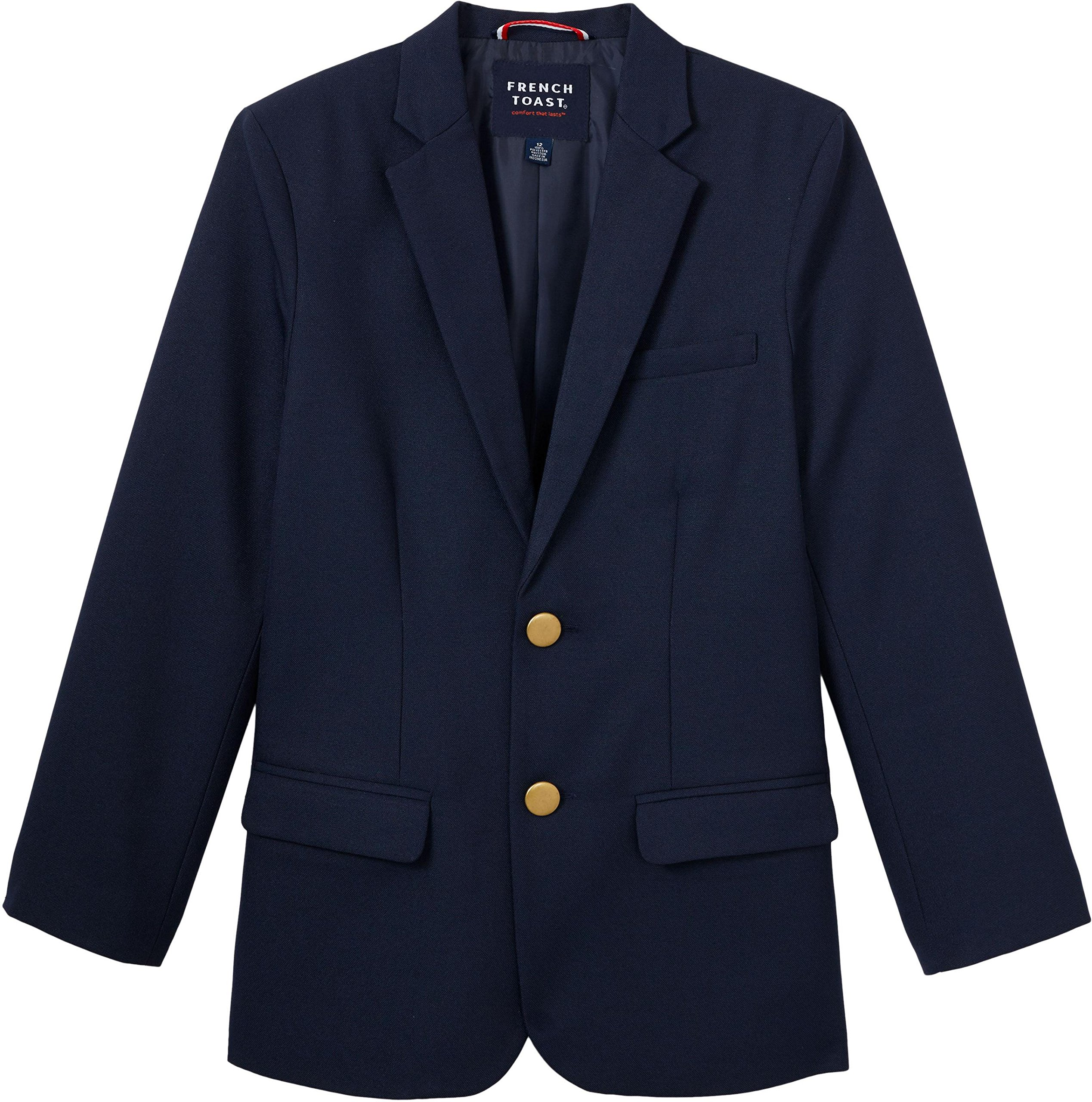 French Toast School Uniform Boys Classic School Blazer, Navy, 8