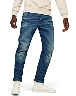 3301 Slim Pantaloni Jeans Stretch Denim Jeans G-Star Raw w40 l32
