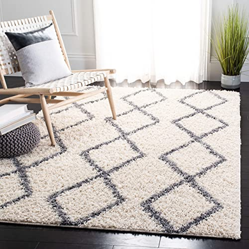 Safavieh Venus Shag Collection VNS682A Moroccan Geometric Area Rug