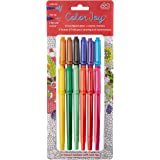 Color Joy 12  Bright, Colorful Twin Tip Markers Marker   (55356)