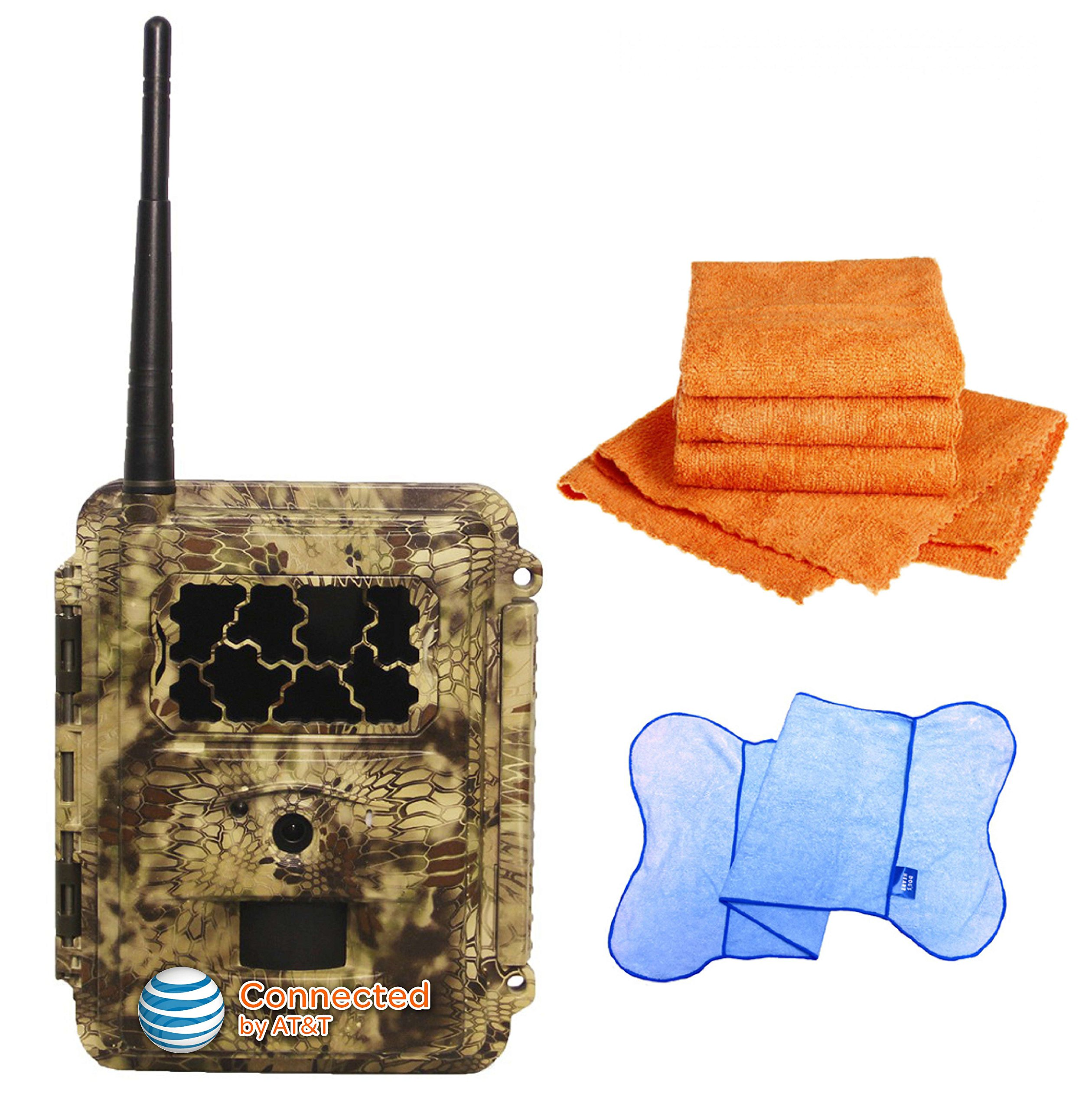 Spartan HD GoCam (AT&T Version, Model#GC-ATTxb, Blackout Infrared) 3G Wireless UTowel Bundle DEAL Bundled with UTowels Edgeless Microfiber Towels by Spartan (Image #1)