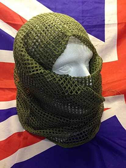 Scrim Scarf Net Genuine British Army Issue, Unused