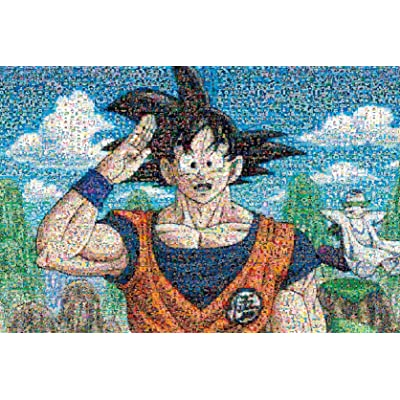 Jigsaw Puzzles Dragon Ball Z 1000 Piece Mosaic Art 1000-346: Toys & Games