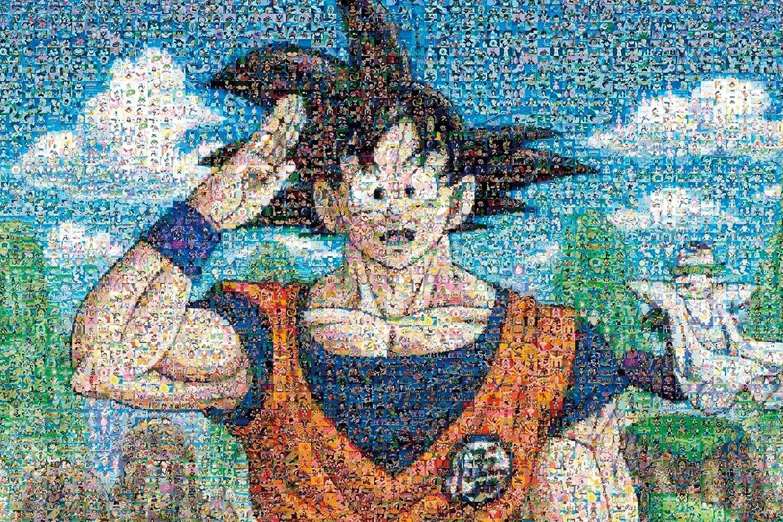 amazon 1000ピース ジグソーパズル ドラゴンボールz モザイクアート
