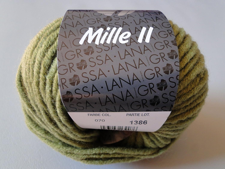Lana Grossa MILLE II Pelote de fil Caramel