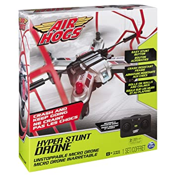 Air Hogs 6037213 Hyper Stunt Drone Red