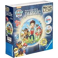 Ravensburger 11842 Paw Patrol Nachtlicht 72 Teile Puzzleball