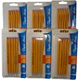 Papermate 3037631PP SharpWriter Mechanical Pencils, Twistable Tip, 0.7 Mm, 6 Blisters of 5 Pencils, Total 30 Pencils