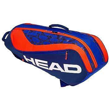 cheap for discount 0d4ed 4a9d2 HEAD Tête Kids  Junior Combi Rebel Sac de Raquette de Tennis, Bleu Orange