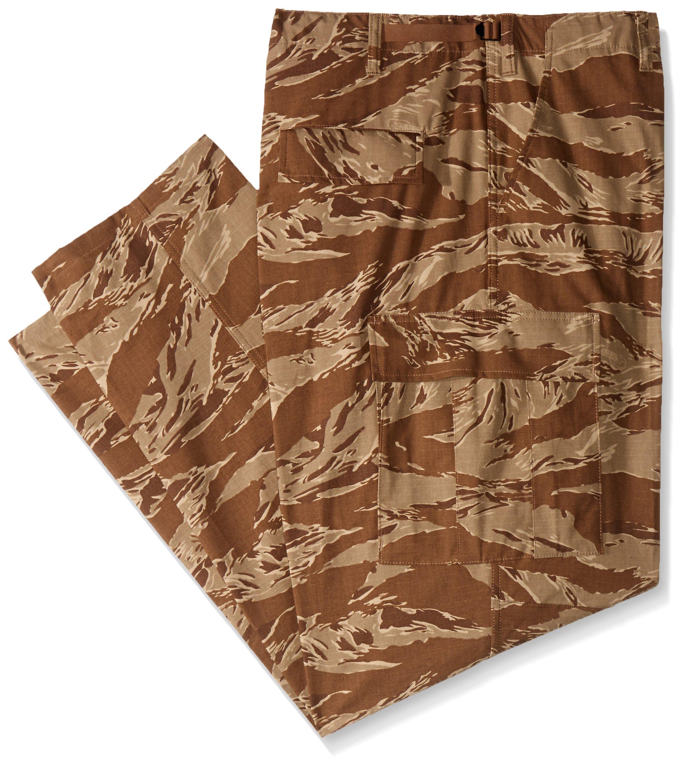 TRU-SPEC Men's Rip Stop BDU Pant - Small - Desert Tiger Stripe