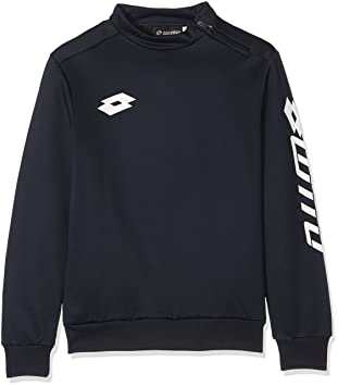 Lotto Sweat Zenith EVO HZ JR - Sudadera para niño, Color Azul, Talla M: Amazon.es: Zapatos y complementos