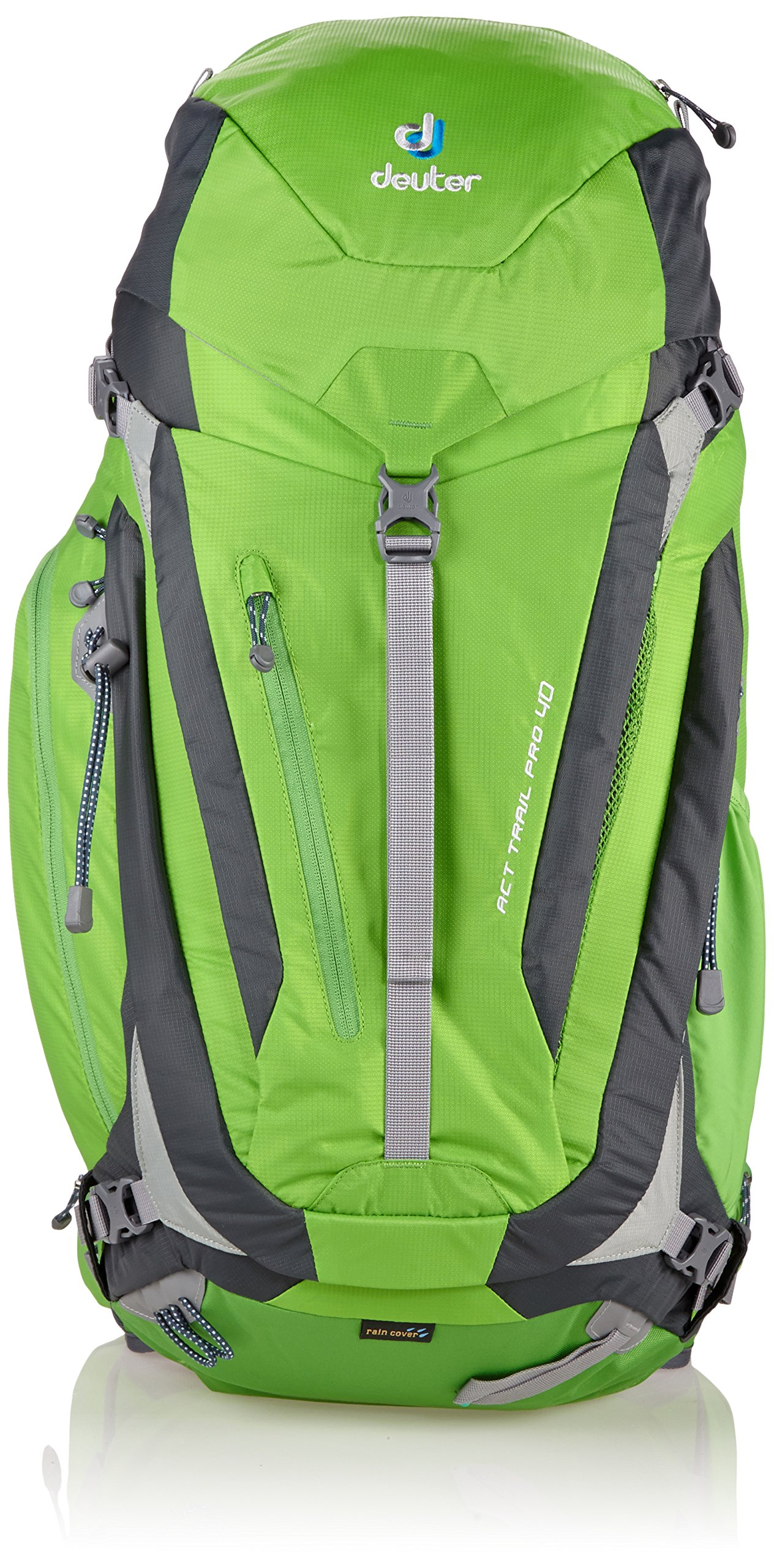 Deuter ACT Trail PRO 40 Hiking Backpack (Spring/Anthracite) by Deuter