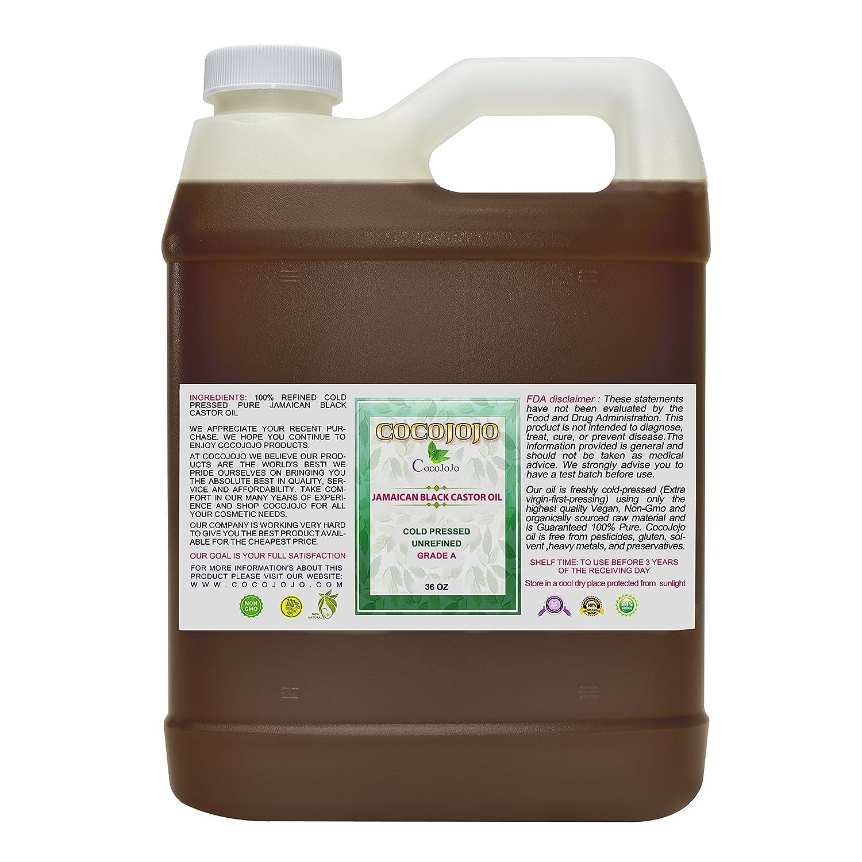 Amazon.com: Aceite de ricino negro y orgánico prensado en ...