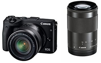 The 8 best canon eos m3 mirrorless camera with 15 45mm lens