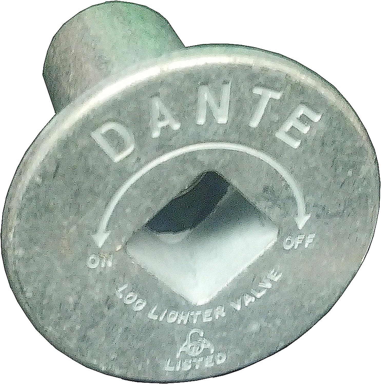 Dante Products FP.BV.CR Chrome Floor Plate for Dante Ball Valve