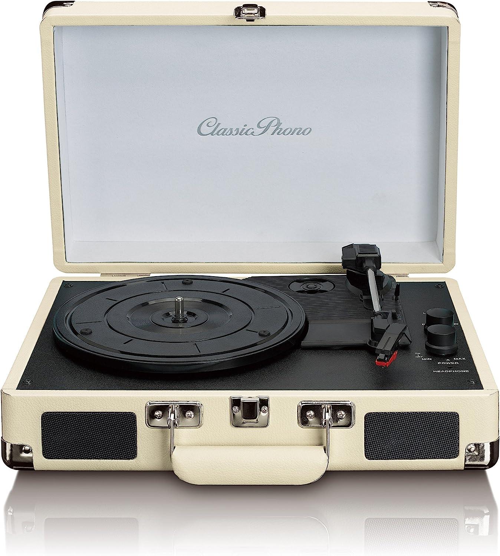 Sortie Ligne RCA entr/ée AUX Lenco TT-11 Platine Vinyle Classic Phono Tourne-Disque Bleu Style r/étro Heut-parleurs int/égr/és