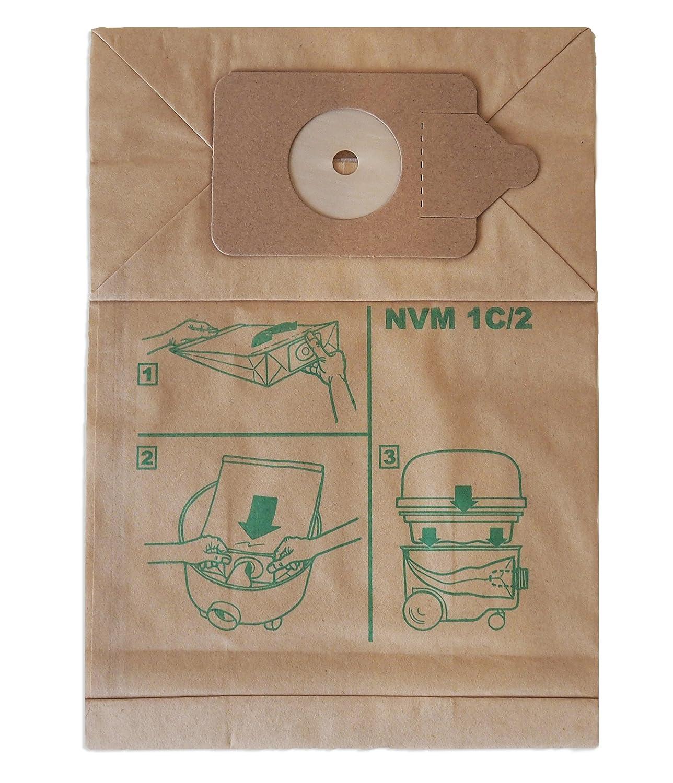 /Bolsas para aspiradora para x10/ Numatic nvmic/ 200/Series, Henry, Hound, Micro y James,